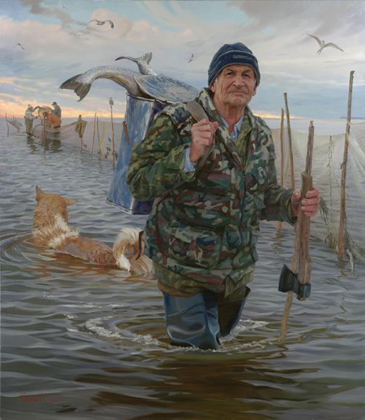 слушать шел мужик не рыбак не помор